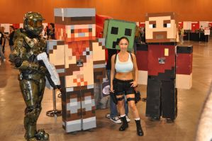 Minecraft Yogscast Cosplay 6 by Auzrill