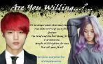 Are You Willing...? Poster by MusicDreams95