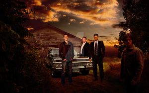 Supernatural Poster Complete by Yoake723