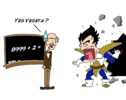 Vegeta Math by Jwpepr