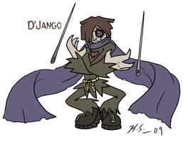 DP OC villain, D'jango by The-Clockwork-Crow
