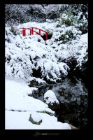 Snowy Kubota Garden by UrbanRural-Photo
