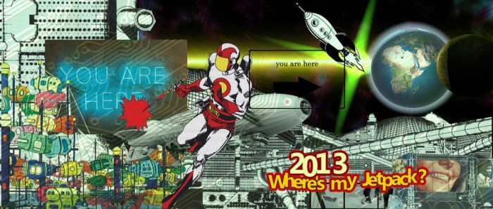 2013 where's my jetpack? by archizero