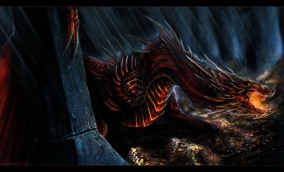 Smaug the Magnificent by Isvoc