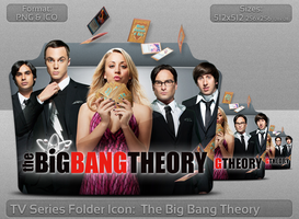 The Big Bang Theory TV Serie Folder Icon by atty12