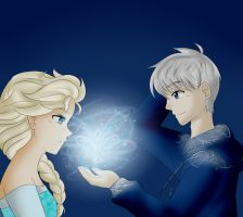 Jack And Elsa by Maybleroses