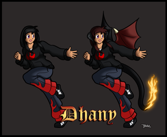 Dhany Forms 1 and 2 by Blazbaros
