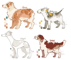 Assorted Doge Adopts *GONE* by Moriartea-time