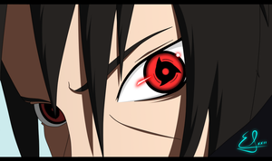 Itachi sharingan by EMIxxiiSAN