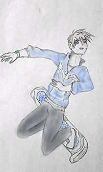Max Steel doodle by Endeavor4ever