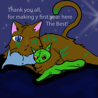 THANKS FOR THE BEST YEAR by QueenYami
