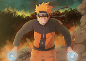 Full Power Naruto by DemonFoxKira