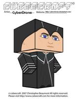 Cubeecraft - The Valeyard 'Doctor Who' by CyberDrone
