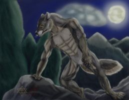 My Werewolf Vision Final by RipItUpGenki
