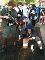 Dempsey and the Hunter! (ACEN 2013) by AddictedMenace