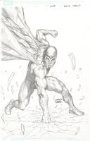 X-Men Legacy 259 50th Annv Var Pencils by davidyardin