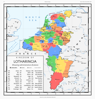 The Kingdom of Lotharingia in 2017 by HouseOfHesse