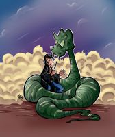 Harry and Snake by Renny08