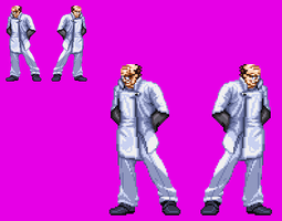 Sprite Work: Doctor Destruction by SXGodzilla