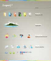 Iconpack 1 by ivelt