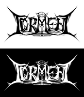 Fictional metal band logo.. by sadako-114