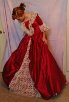 Elegant Gown 3 by Valentine-FOV-Stock