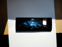 Nokia airbrush flames by Namingway-Regret