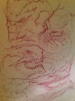 Monster sketches by JulioNicoletti