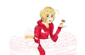 APH: Cake? by CookiePancakes