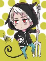Chibi Prussia - Halloween by 12bubbles12
