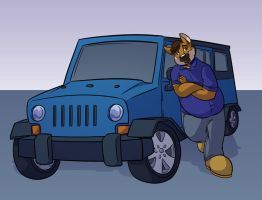 Commission- Jeep by Fyuvix