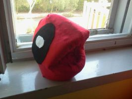 Deadpool puppet w.i.p. by ANTONIOMASTERPERES
