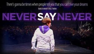 Never Say Never by Kairiprincessofheart