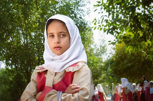 Student Girl by hamidkhan