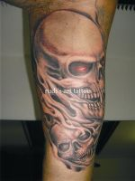 Black and Grey 12 by rudisarttattoo