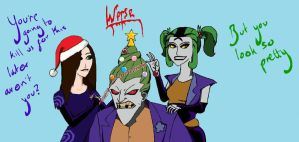 Christmas for Clowns by Jokeress-KlownQueen