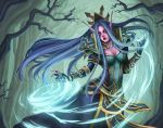 WoW - Night Elf Arcanist by Aaraujo