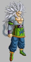 Goku Ssj5 Remake by NeDan89