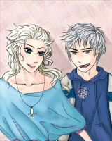 An Icy Relationship - Jack x Elsa by november-branches