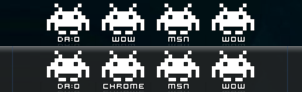 Invaders Icons by S-ii-C-K-S-H-O-T
