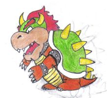 1st Time BOWSER by koolkon08