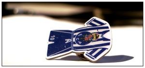 Football Club Pin by Seat