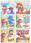 Knuckles Team by Ian-the-Hedgehog