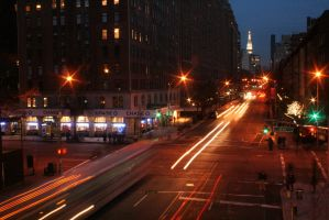 Over The High Line at night 05 by Nazo400