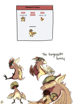 The Kangaseotto Family by Spirited-Violet
