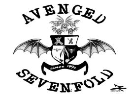 Avenged Sevenfold Logo Art3 by JadeTheAngle777