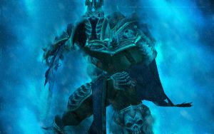 Lich king Wallpaper by Sanistra
