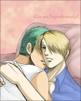 ::ZoroxSanji:: Foreplay by whippy