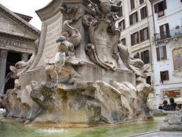 Fountain in Roma 2 by X-ToxiC-FuneraL-X
