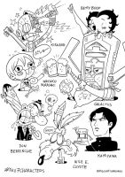 Fav 7 Characters pt2 by PacoAfroMonkey